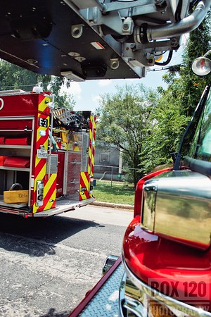 House Fire - 1000 Gibbs, San Antonio, TX - 7/2/17