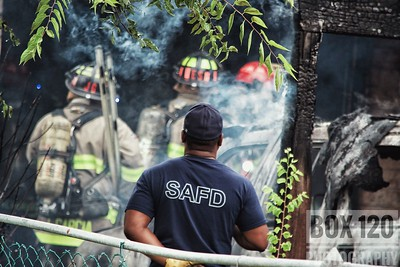 Structure Fire - 7400 Bronco Ln - San Antonio TX 08/06/17