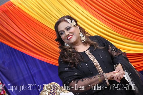 Zulekha & Basit Dholki by Ghazala & Nazia