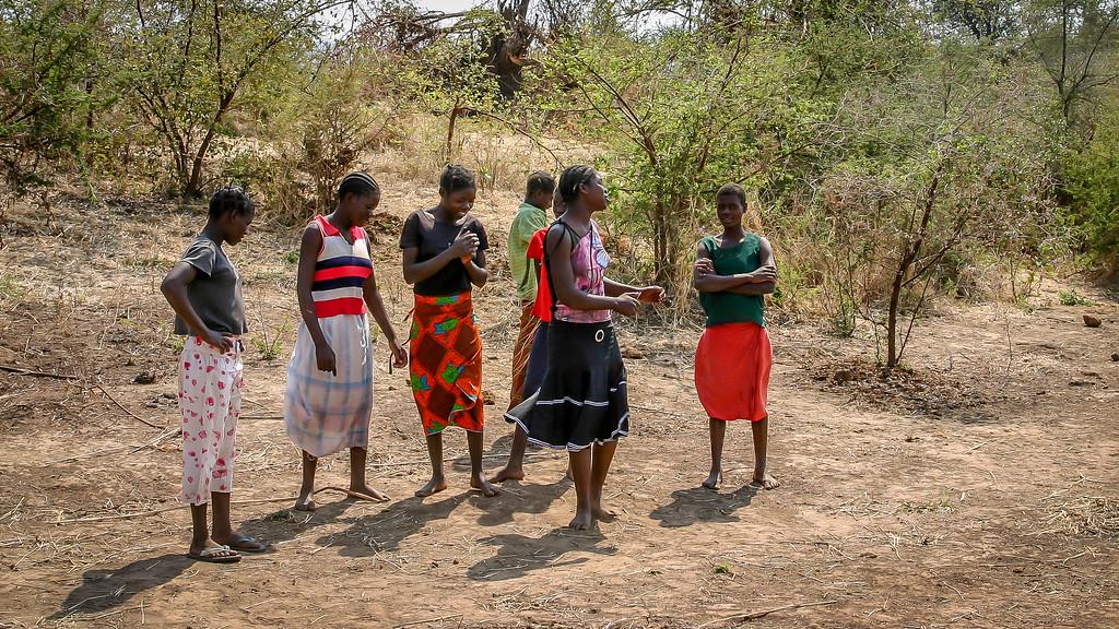 Zambian Women Dancing