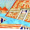 Triumphal Scene Sketch, Aida 2013.