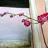 Irena LUKIĆ,  Orhideja na prozoru, akril