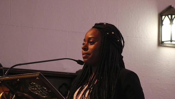Zaniya Lews '16 - Service and Activism Speech