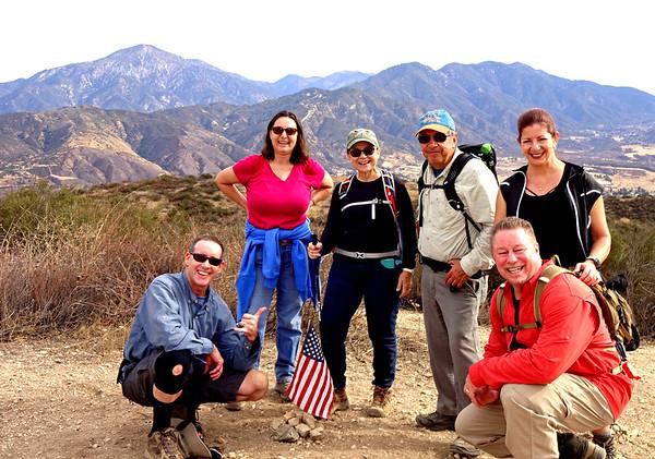 Zanja Peak Hike w/ Sierra Club, Yucaipa Regional Park January 3, 2018