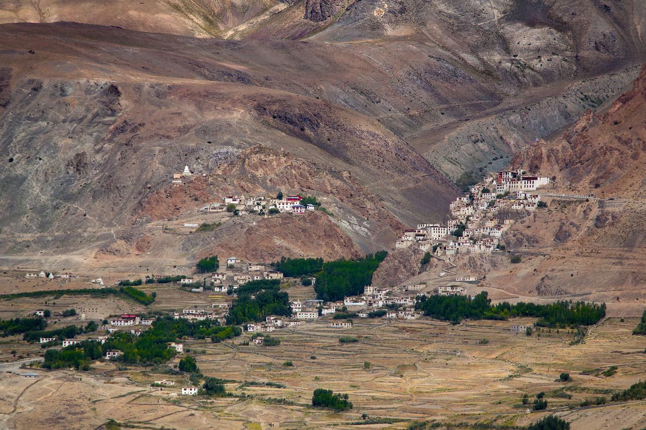 Karsa monastery, seen from Stongdey.