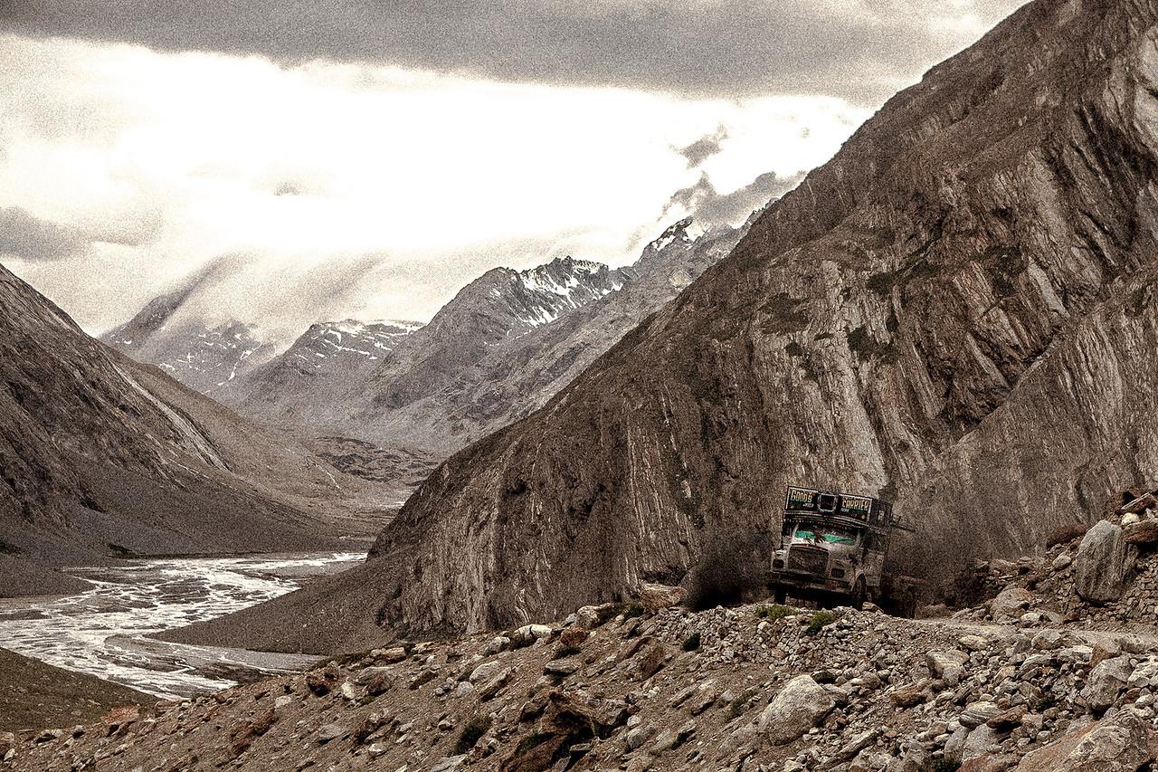 On the Penzi la en route Zanskar