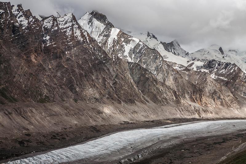Drang Drung glacier on Penzila enroute Zanskar, India
