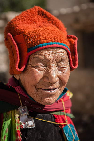 Happy faces at Sani, Zanskar, India