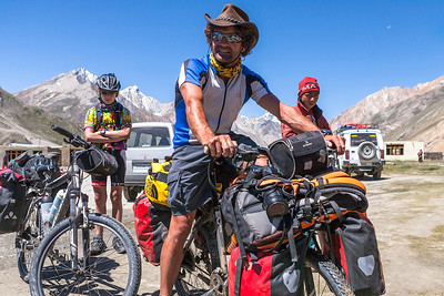 These French cyclists were cycling from Kargil to Padum, a 250km gravel road, in Zanskar valley. In Zanskar, they were going to volunteer as teachers in a school they had helped build earlier.
