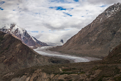 From atop the Penzi la, the only mountain pass in the 250 km Kargil to Padum journey into Zanskar, this was the closest we got to the Drang Drung glacier.