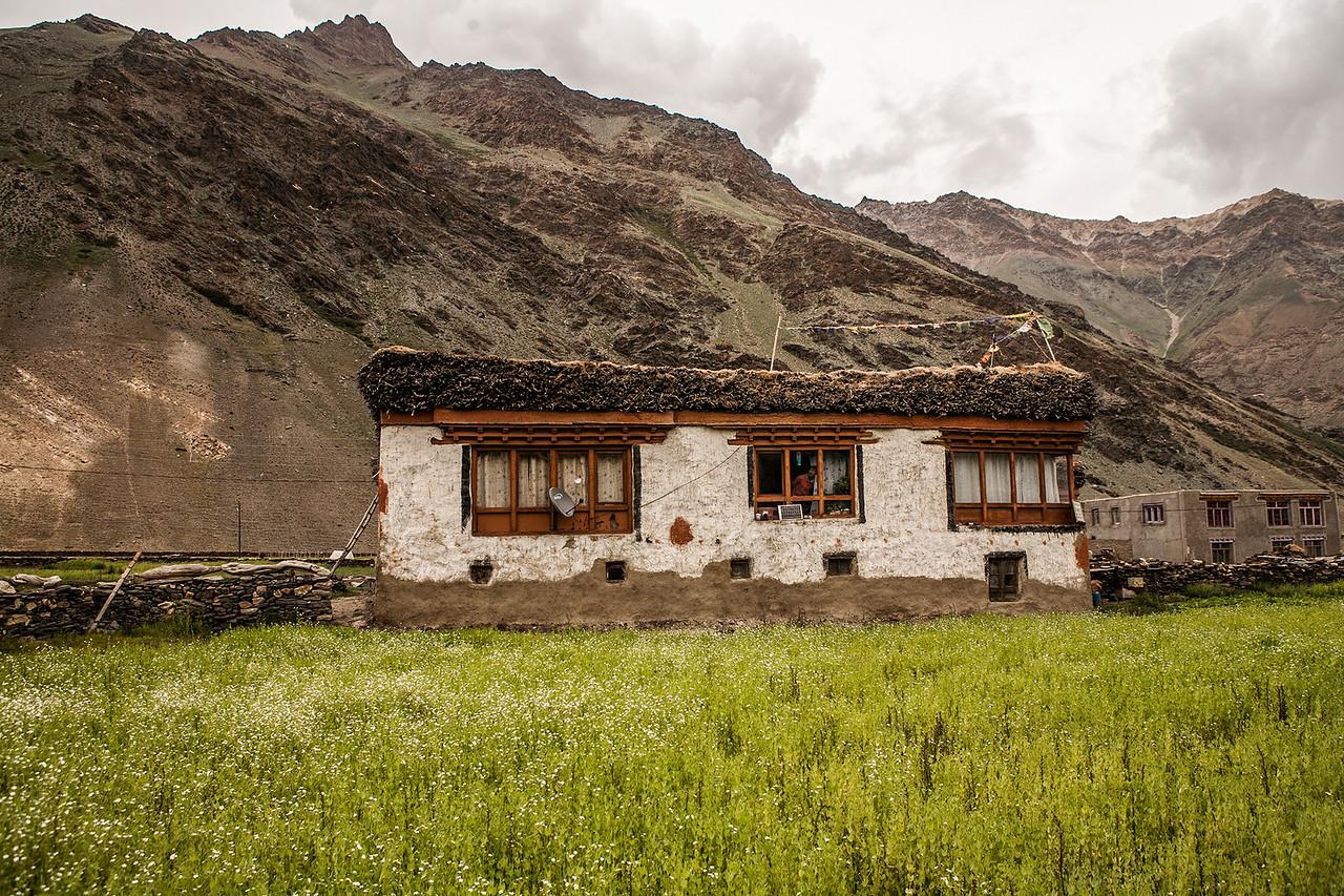 A guest house in Rangdum en route Zanskar