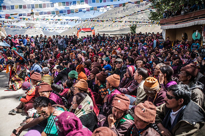 People from all around Zanskar come to Sani for this festival. A photographer's delight, this festival sees attendees even from countries like Japan and the United States besides a large number of Europeans.
