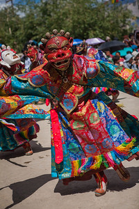 A two-day riot of colour, dance and music, the Sani monastery festival is the perfect way to build a social camaraderie among the far-flung villages of the Zanskar valley.