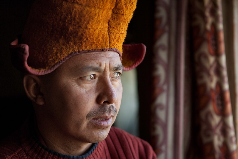 Head monk, Karsha Monastery.