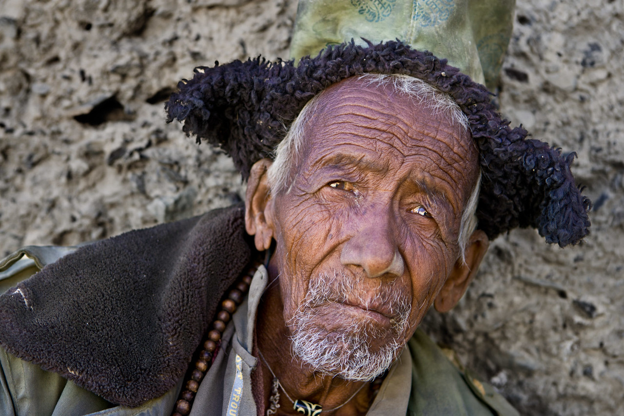 A man from Zangla.