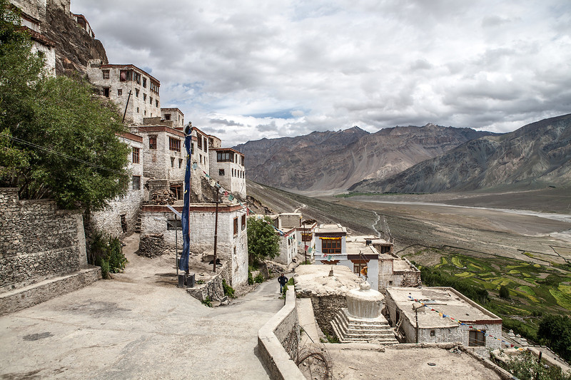 Climb up to Karsha monastery, Zanskar, India
