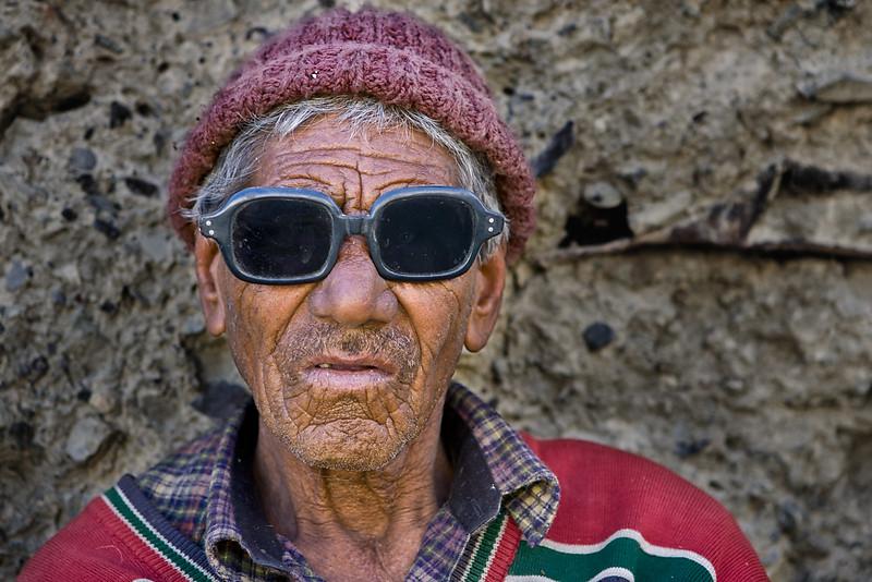 A man from Zangla.
