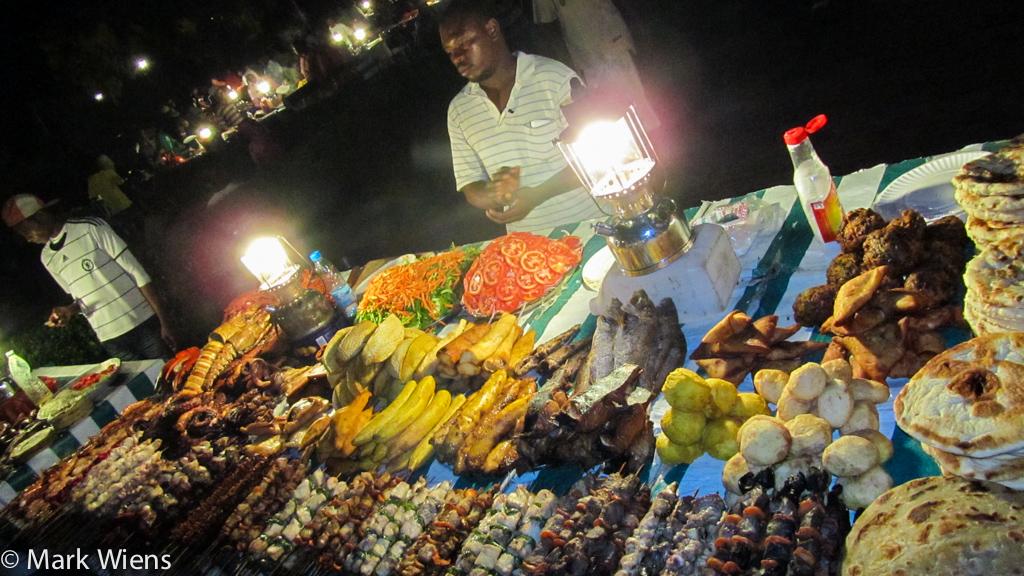 Zanzibar street food