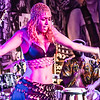 Belly Dancer Performing