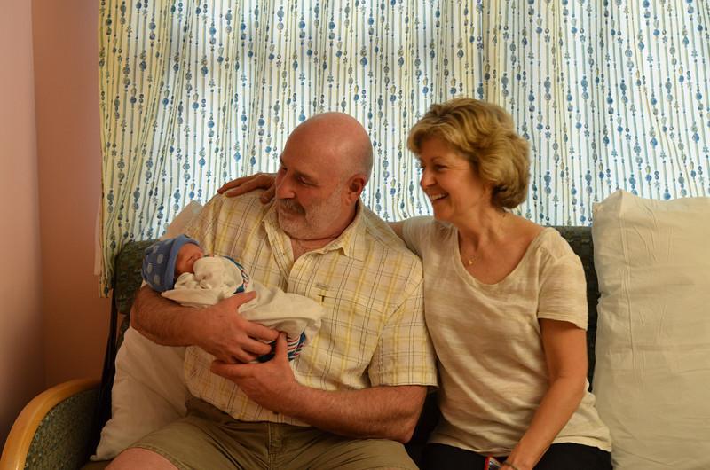 Proud grand parents!