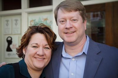 Donna Jones and Mark Gorman