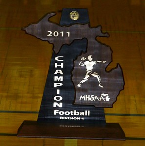 Zeeland (MI) West High School Football Champions Assembly - 11-28-11