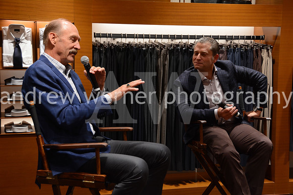 Ermenegildo Zegna hosts Stan Smith at Brookfield Place