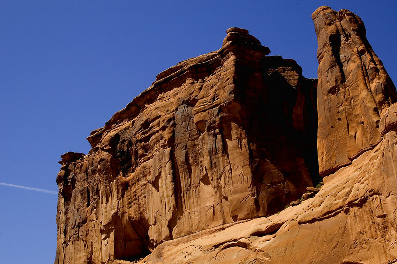 Courthouse Rock, Arches National Park, Utah  [May]