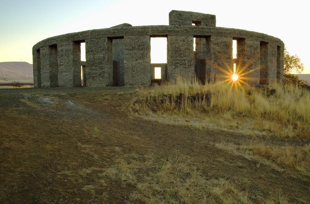 War Memorial, Washington/Oregon border  [October]