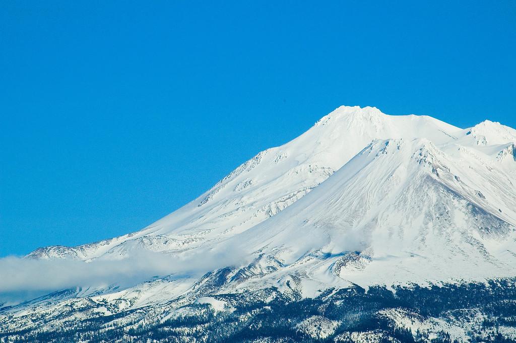 Mount Shasta California/Oregon border [January]