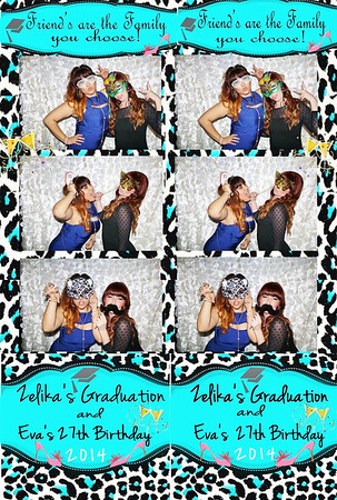 Zelika's Graduation & Eva's 27th Birthday!
