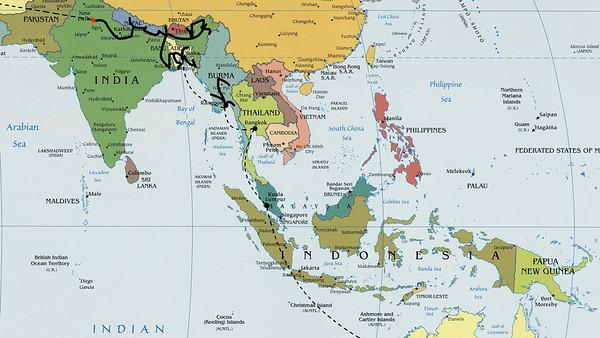 Južna Azija - 4. leto (2008)