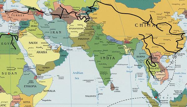 Azija po svilni poti v nasprotni smeri in konec v Afriki - 6. in 7. leto (2010 in 2011)