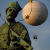 Statue with balloon 2