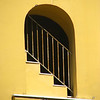 Yellow stairwell