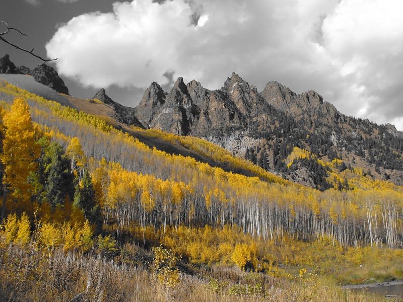 Fall colors in Colorado