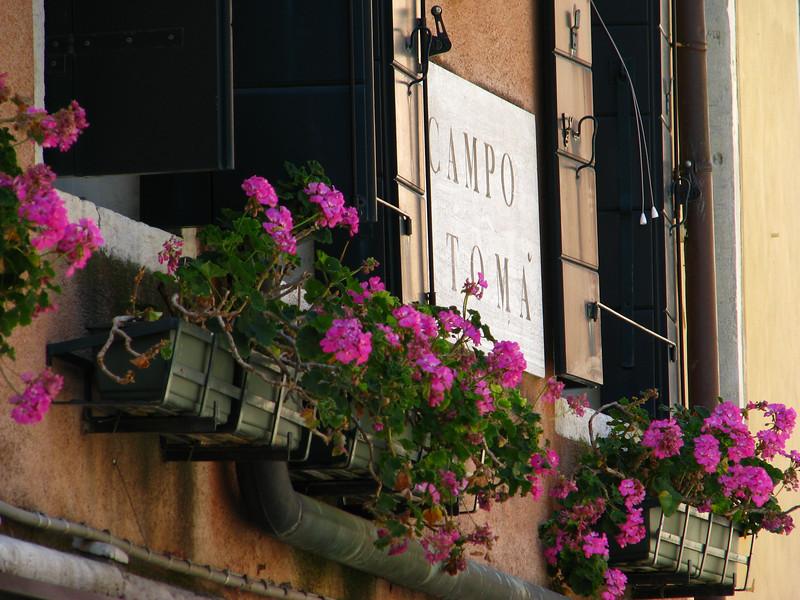 Venice windowsill