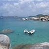 The Baths panoramic, Virgin Gorda, British Virgin Islands