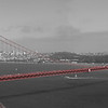 Golden gate b&w panoramic