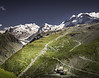 Trails and Waterfalls! - Furgg, Switzerland