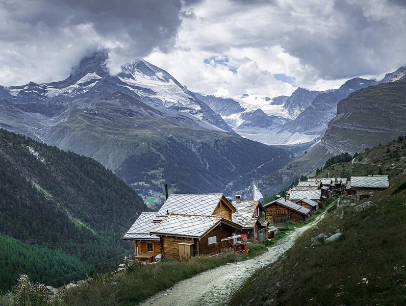 Sleepy Alpine Village! - Findeln, Switzerland