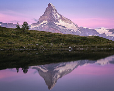 The Pre-Dawn Glow! - Leisee, Switzerland