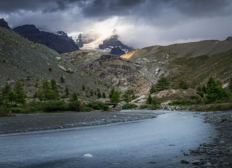 Light at the source! - Findelbach River, Switzerland