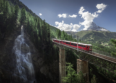 Paradise Express! - Findelbach Bridge, Switzerland