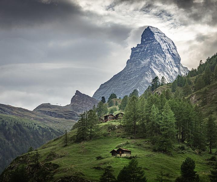 In the lap of nature! - Zermatt, Switzerland