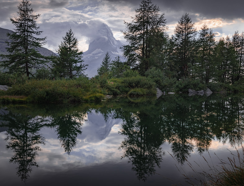 Mirror Mirror, on the lake! - Grindjisee, Switzerland