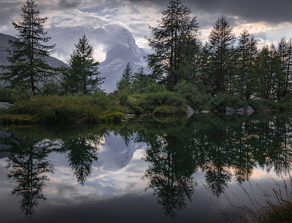 Mirror Mirror, on the lake! - Grindjisee, Switzerland