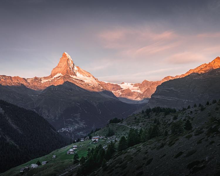 Rise and Shine! - Sunnegga, Switzerland