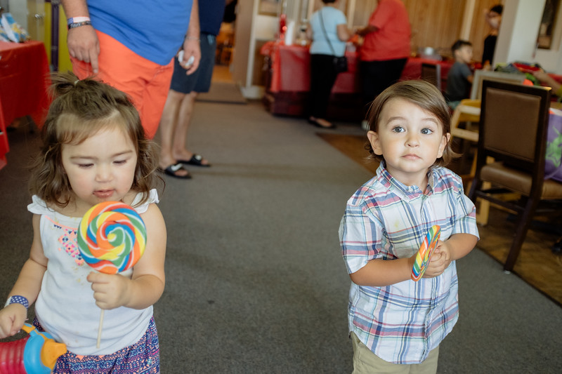 take eyes of your kid for a few seconds and someone gives them a giant lollipop