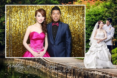 Zhao Xiang + Ting Ting Photo Booth Album